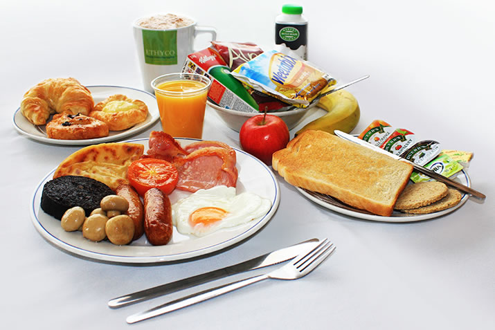 All you can eat breakfast available on NorthLink ships