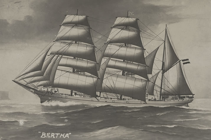 Painting of the Bertha
