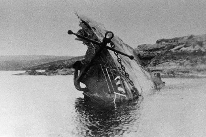 Wreckage of the Bohus
