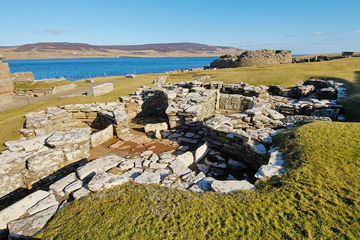 The Shamrock House; a pictish dwelling built after the Broch of Gurness