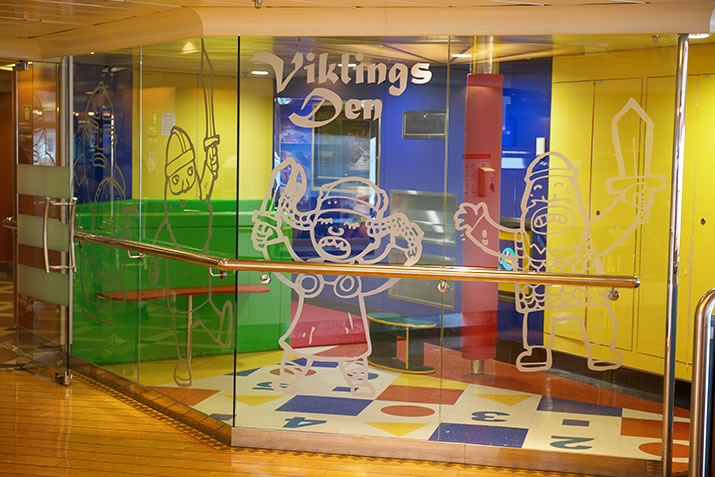The Viklings Den play area on board NorthLink ships