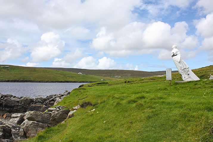 The White Wife of Queyon, Shetland