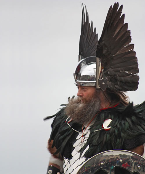 The Guizer Jarl, Up Helly Aa, Shetland