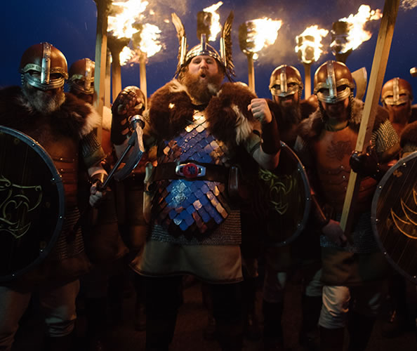 Up Helly Aa is a Shetland Fire Festival with Vikings!