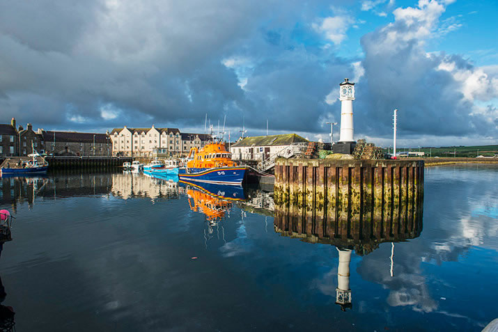 Kirkwall harbour, Orkney