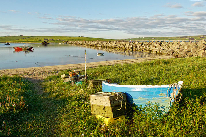 The Churchill Barriers, Orkney
