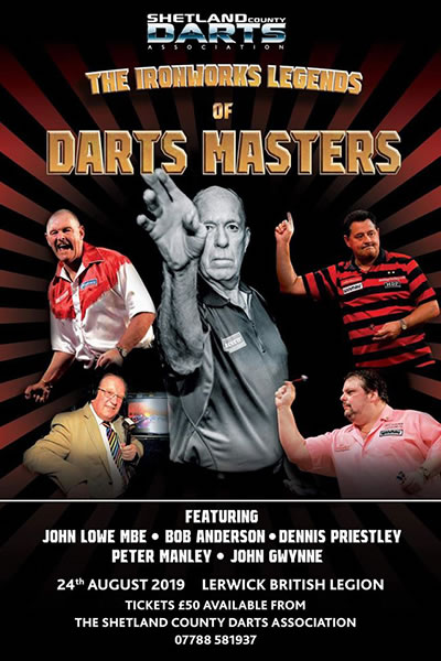 Darts Masters - The Ironworks Legends