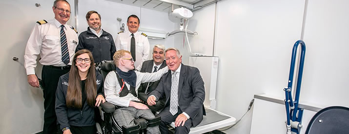 Serco NorthLink Ferries introduces 'gold standard' of accessible toilets