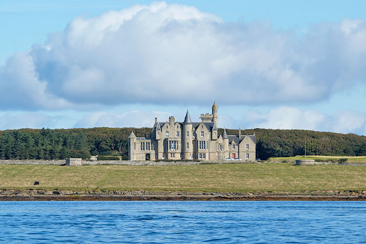 Balfour Castle, Shapinsay, Orkney