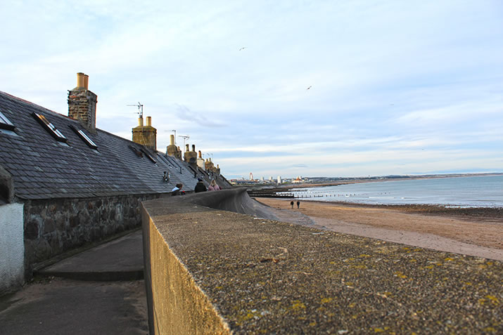 Footdee and beachfront, Aberdeen