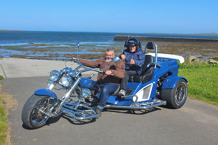 John Foster and Orkney Trike Tours
