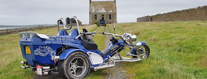 Orkney Trike Tours – an interview with John Foster