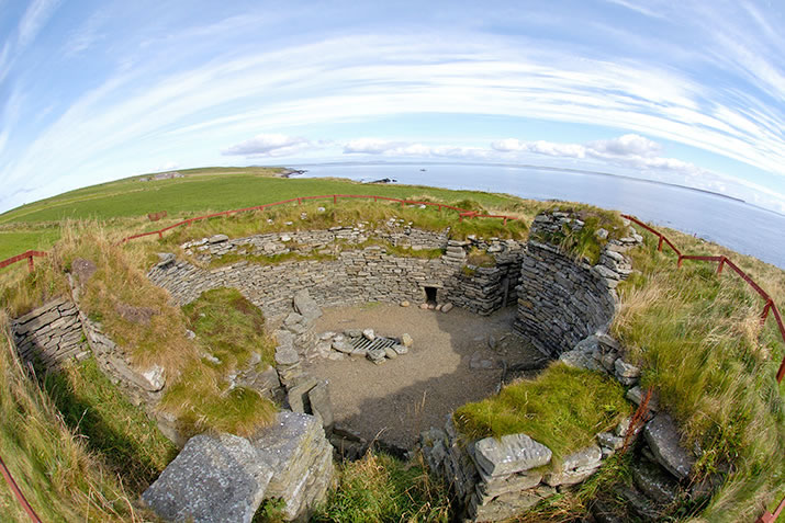 The Broch of Burroughston, Shapinsay, Orkney
