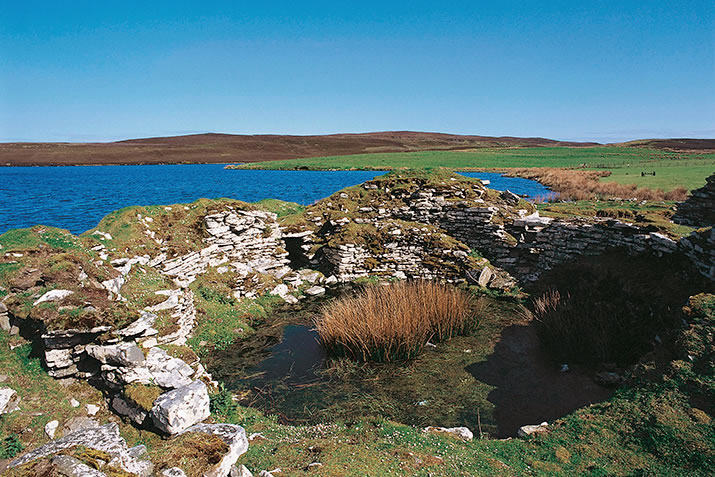 The Broch of South Yarrows in Caithness