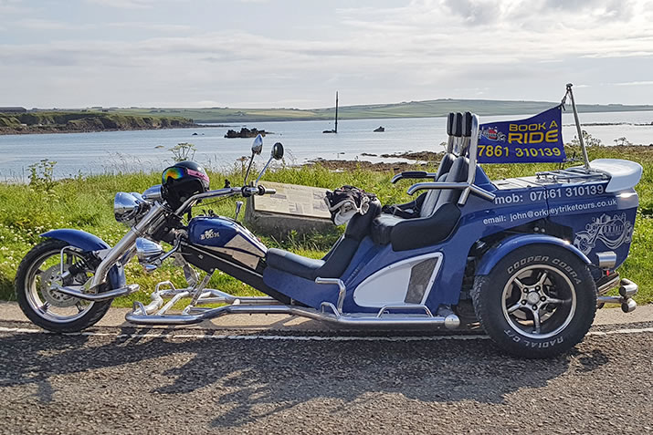 Trike Tours of Orkney
