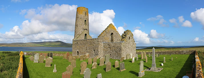 St Magnus Church in Egilsay