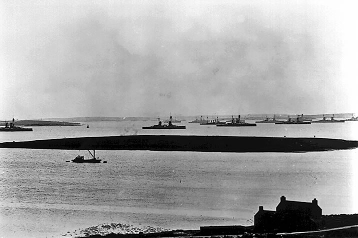 The German High Seas Fleet in Scapa Flow