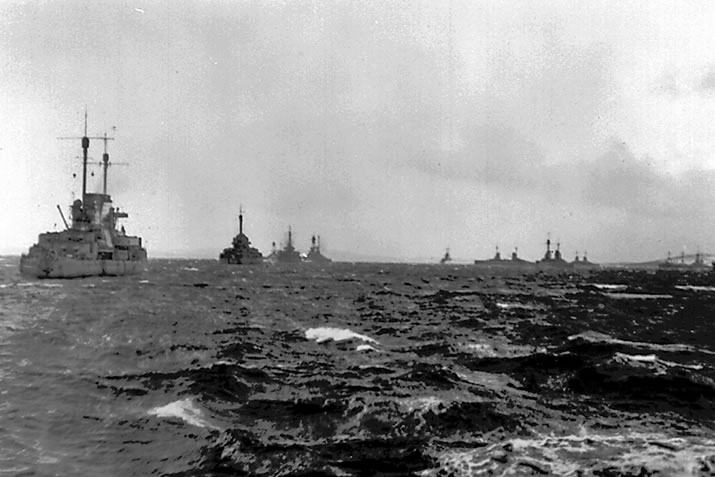 The German High Seas Fleet