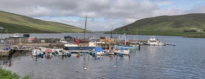 Voe in the Shetland Islands