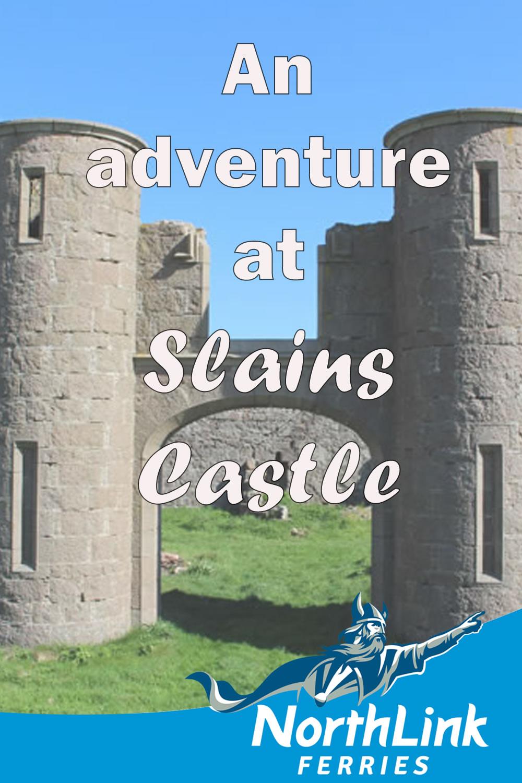 An adventure at Slains Castle