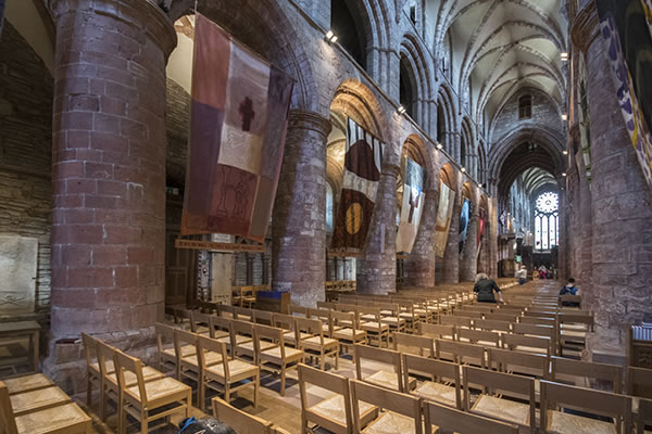 St Magnus Cathedral inside