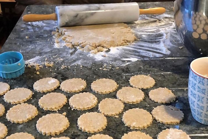 Delicious oatcakes