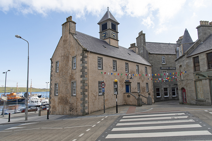 The tollbooth, Lerwick, Shetland