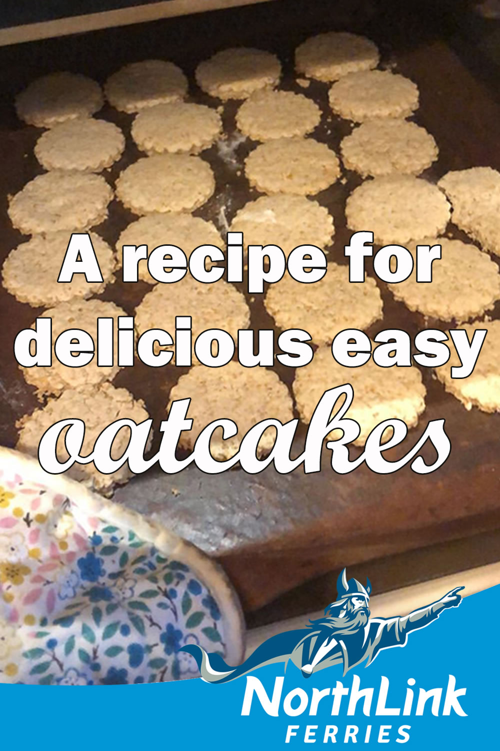 A recipe for delicious easy oatcakes