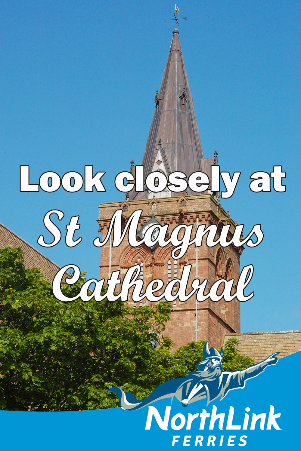 Look closely at St Magnus Cathedral