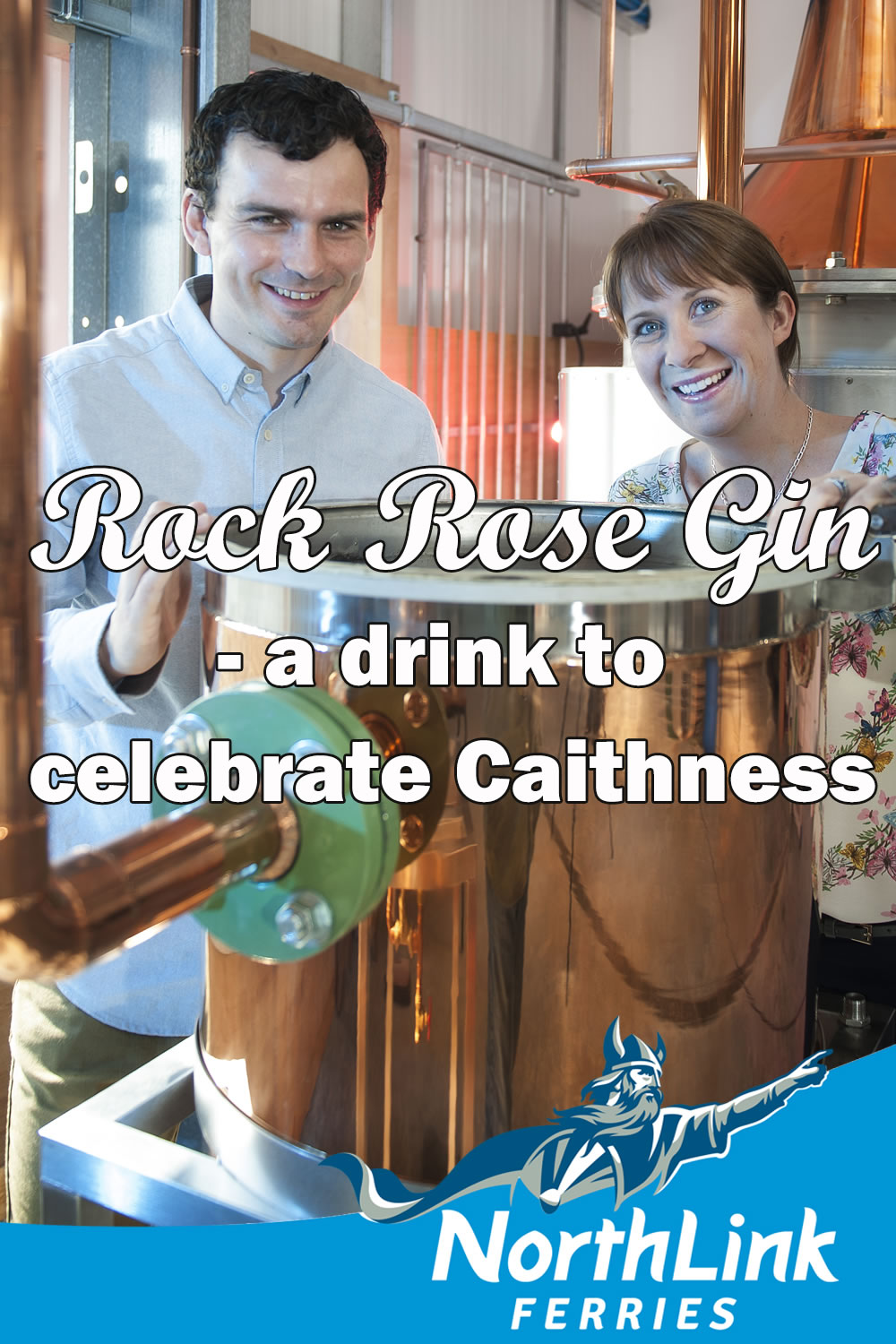 Rock Rose Gin – a drink to celebrate Caithness!