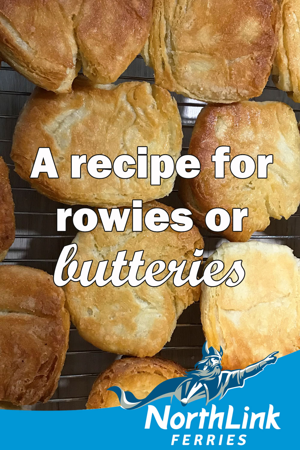 A recipe for rowies or butteries