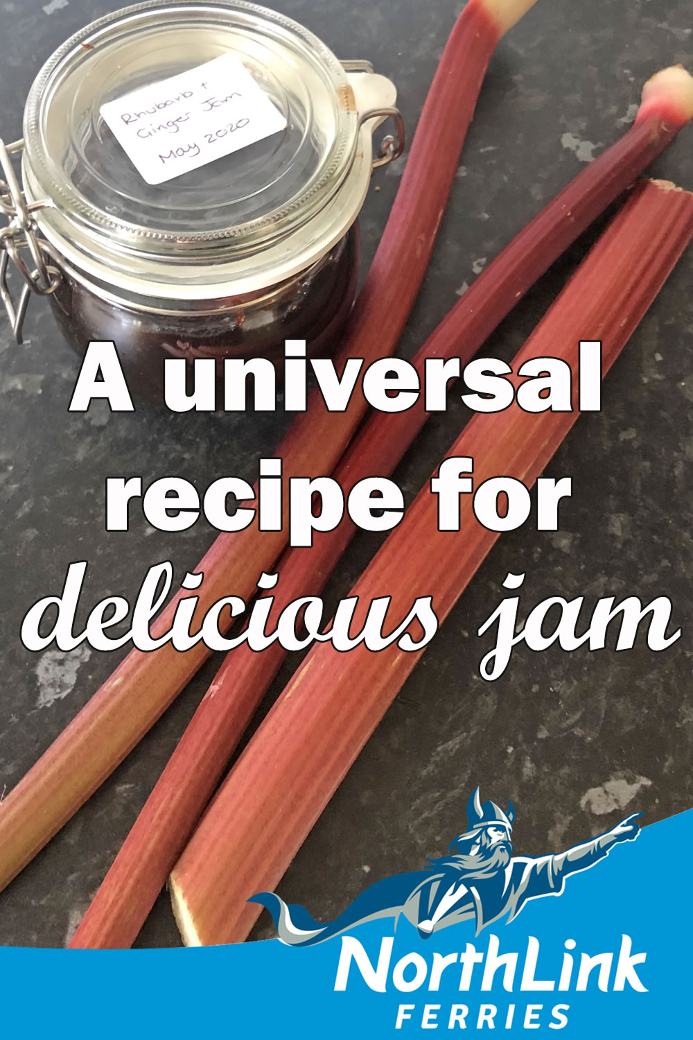 A universal recipe for delicious jam