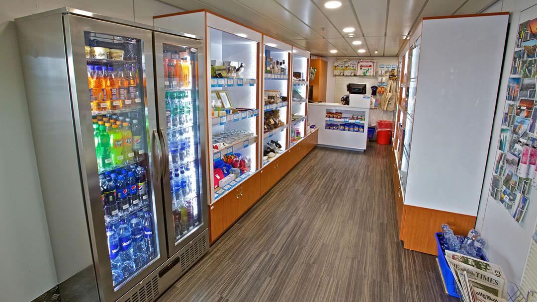 Inside the NorthLink shop
