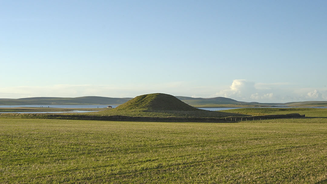 Maeshowe Chambered Cairn in Orkney