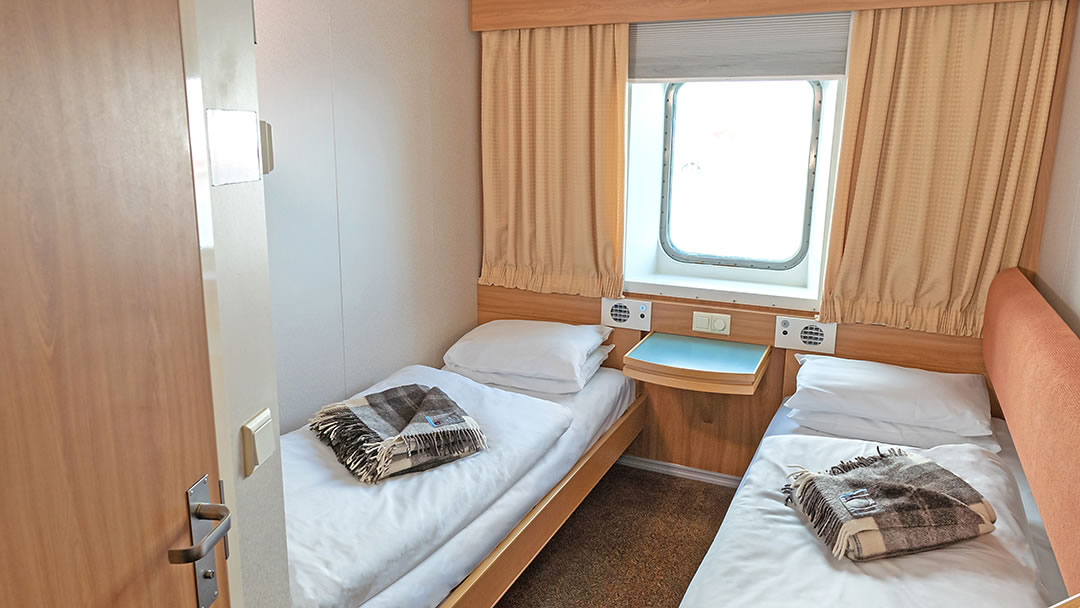 Premium Outside 2-berth Cabin