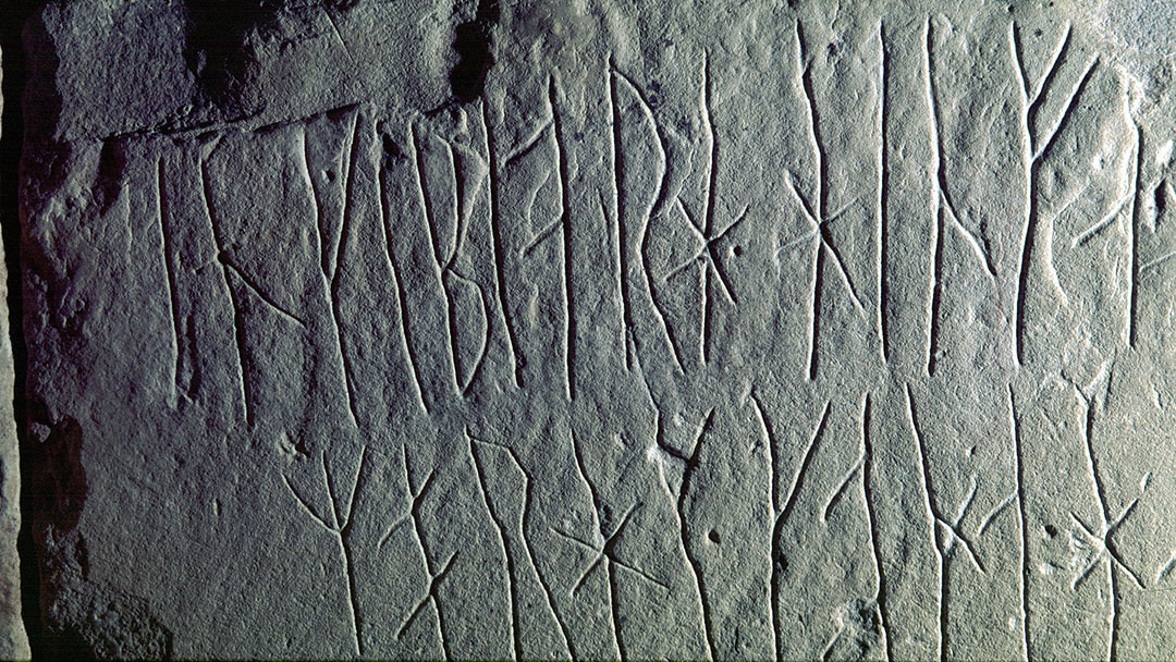 Runic carvings in Maeshowe