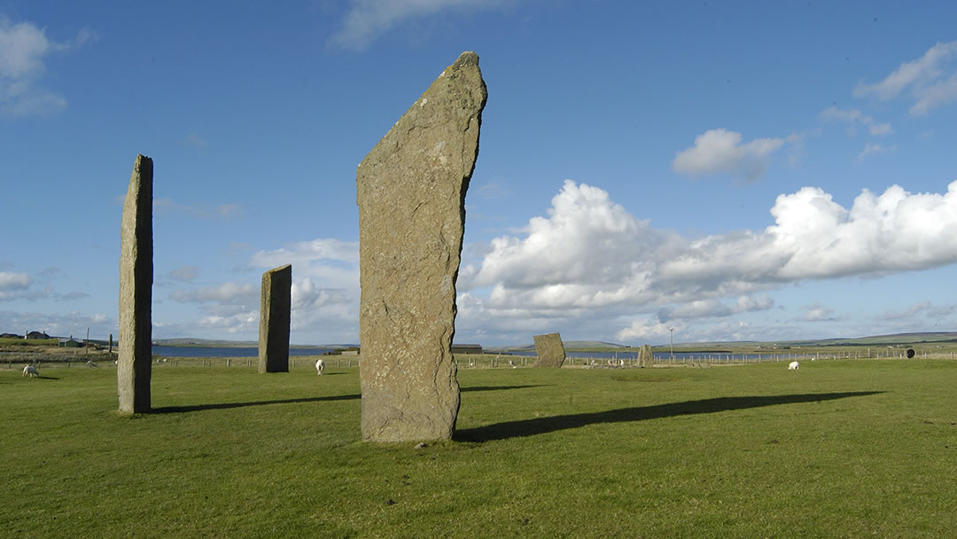 The Standing Stones of Stenness - standing stones in Orkney