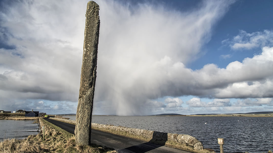 The Watchstone in Orkney