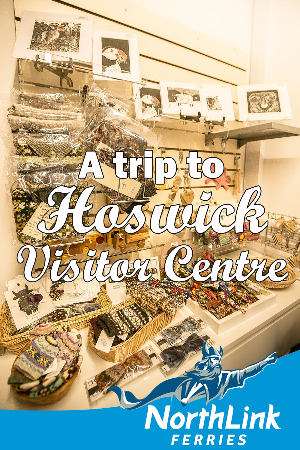 A trip to Hoswick Visitor Centre