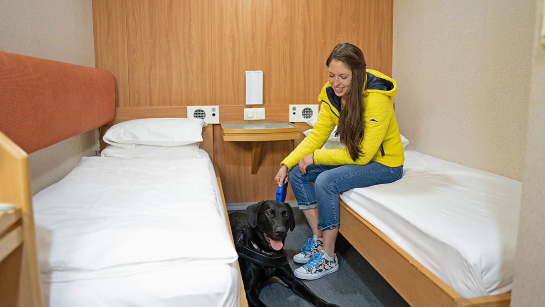 Pet Friendly Cabins on the ferry to Shetland and Orkney