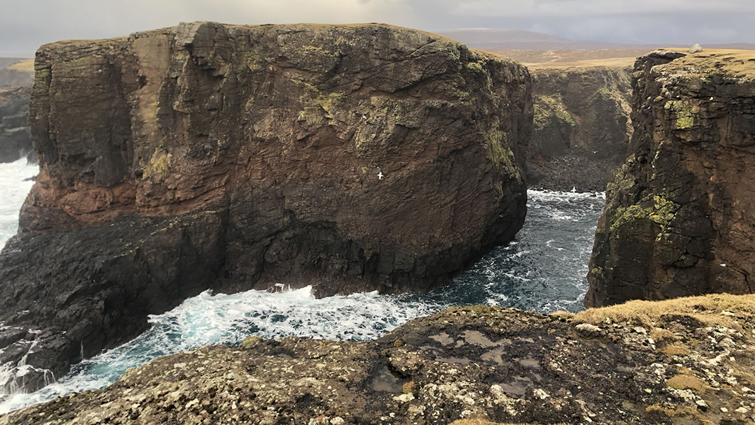 Calder's Geo at Eshaness in Shetland