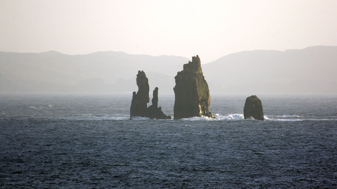 Da Drongs at Hillswick in Shetland