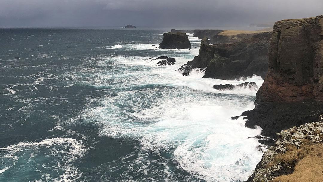 Eshaness in Shetland
