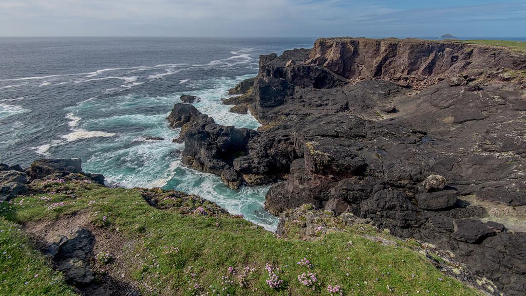 Eshaness in the Shetland islands