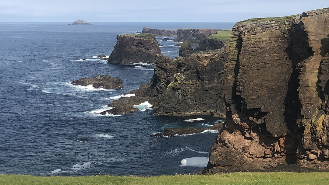 Eshaness in the north of Shetland