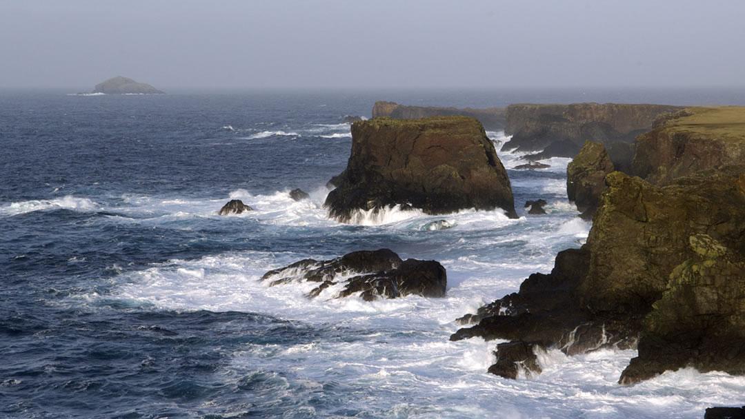 Muckle Ossa seen from Eshaness, Shetland