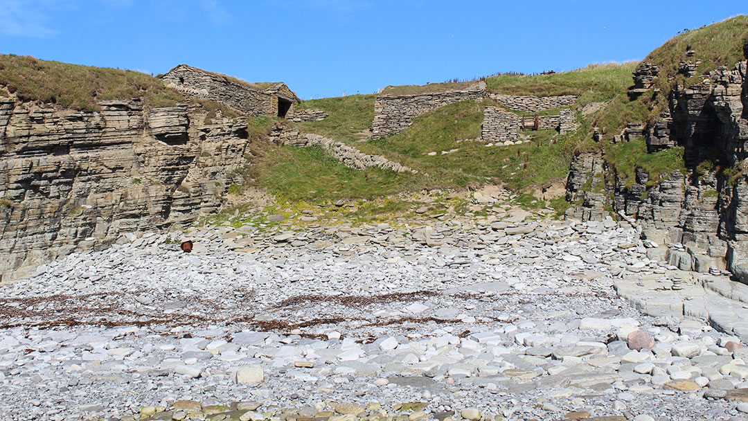The fishermen's huts at Marwick, Orkney