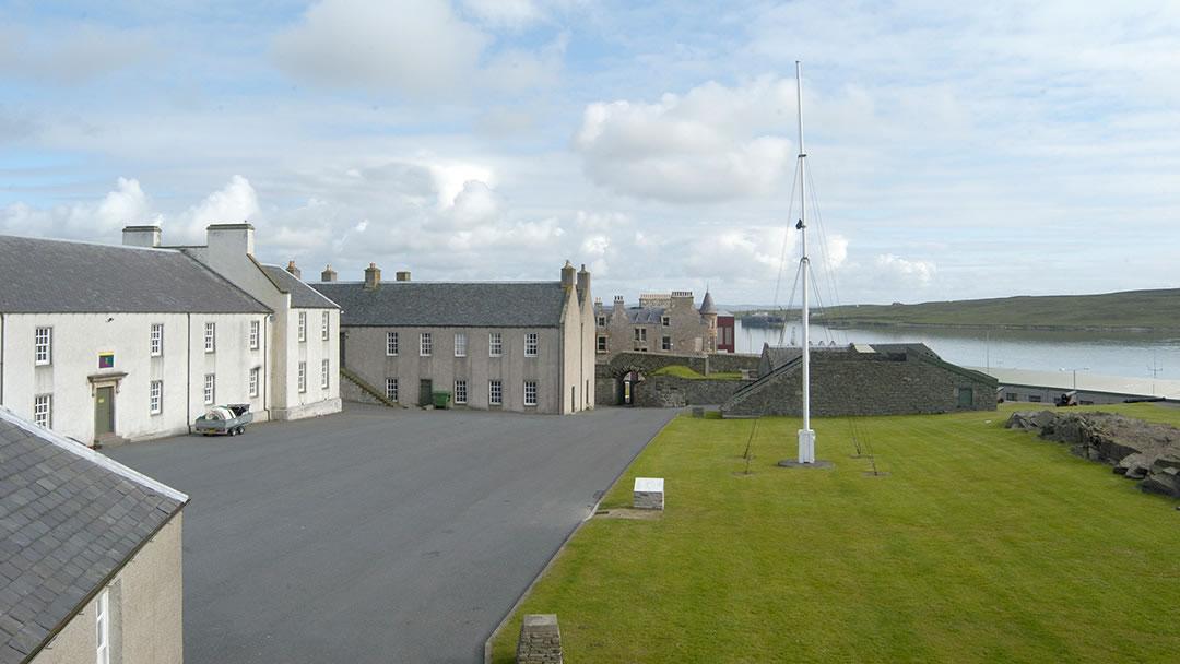 Fort Charlotte in Lerwick, Shetland Islands