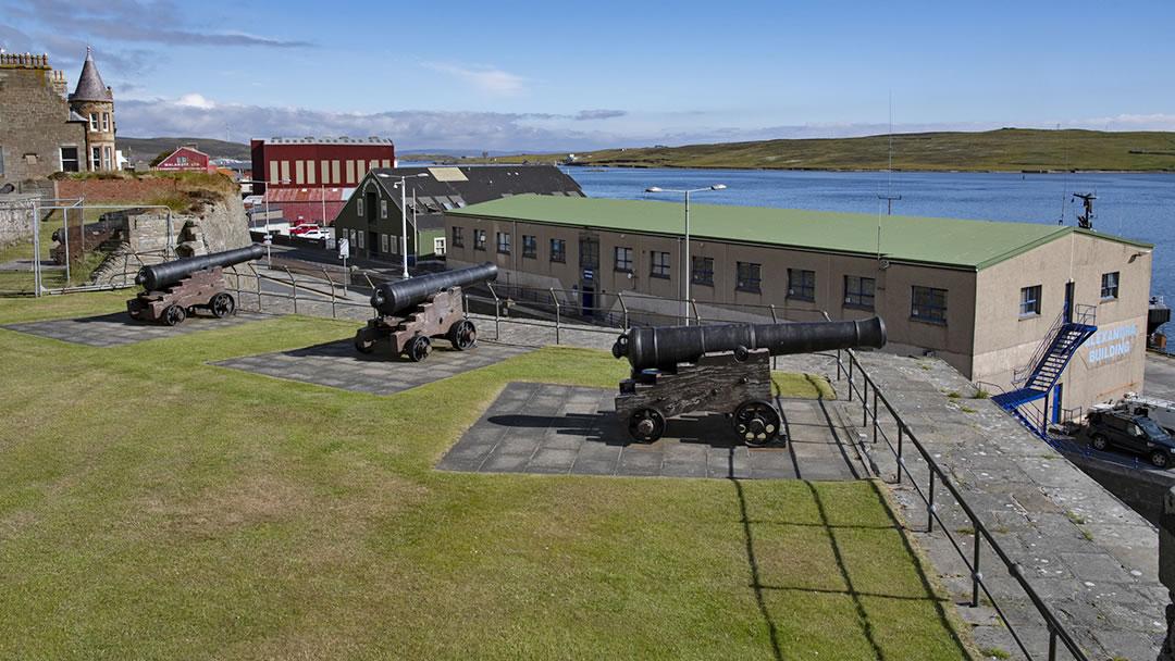 Fort Charlotte in Lerwick, Shetland