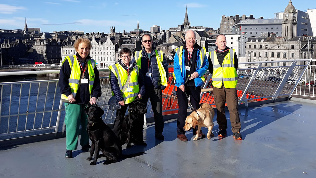Guide Dogs visit on 12th March 2020